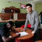 Client/Nigerian U-17 National Team Player Ibe Henry Tobechukwu signs contract with FC Shipbuilders Ukraine 2nd League
